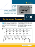 Voltímetro Con Escala de Punto Móvil (Montajes)