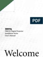 BENPB8250 Manual