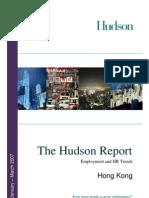 HK Hudson Report 2007 Q1 Eng