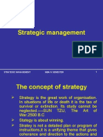 Stategic Management