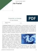 Geometria Fractal - Matemática - InfoEscola