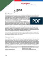 Mobil Delvac 1 5W-40 (PDS)