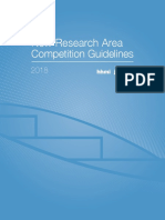 Janelia Research Area Guidelines