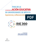 Perspectivas de Innovacioìn Educativa Universidades Mexico eBook 368 Pp