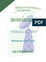 Electrónica Historia