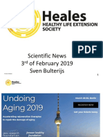 Scientific News 3rd of February 2019