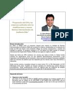 Preparacion Del Auditor Lic. Byron Méndez Revista IGCPA