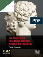 GAUSSENS La Izquierda Latinoamericana Contra Los Pueblos