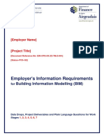 Employers Information Requirements BIM Template
