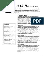 AAB Proceedings - Issue #29