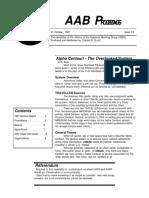 AAB Proceedings - Issue #34