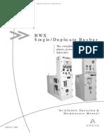 Areva - HWX VCB - Installation Operation & Maintenance Manual