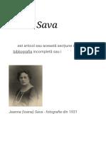 Ioana Sava - Wikipedia
