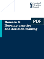 Domain 3 Nursing Practice and Decision Making2