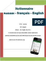 Dictionnaire Kusaal a-z