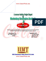 Soft Drink Manufacturing Paper