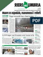Rassegna Stampa Nazionale e Locale Dell'Umbria Del 3 Febbraio 2019