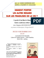 Conférence G. AHONGBONON à Chambéry