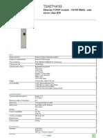 Modicon Premium TSXETY4103