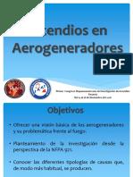 La Investigacion de Incendios en Aerogeneradores