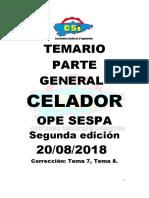 CSI OPE SESPA CELADOR PARTE GENERAL