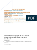 Can Electrocorticography
