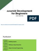 Android Development for Beginners IAK 2016