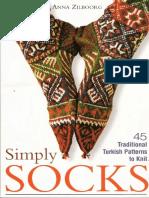 Meias simples em tricot - Simply Socks