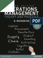 Operations Management_ Theory and Practice - B. Mahadevan