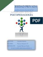 Evaluación Psicodiagnóstica Cristian Tovias