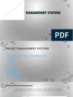Project Management Systems