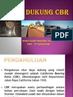 7. Mekanika Tanah 1 - Daya Dukung CBR