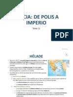 Tema 11.Grecia. Sociales 1º ESO(1)