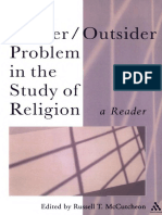 (Controversies in the Study of Religion) Russell T. McCutcheon-The Insider_Outsider Problem in the Study of Religion_ A Reader-Bloomsbury Academic.pdf