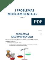 Tema 8. Problemas Mediambientales. Sociales 1º ESO