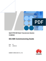 IDU 605 Commissioning Guide(V100R003_05)