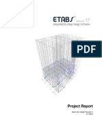 ETABS Project Report for Design of A Masjid