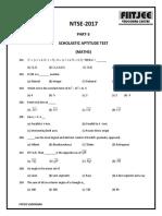 Qp_gujarat Ntse Stage 1 2017-18 Sat (1)