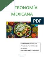 Gastronomía de Mexico Docx