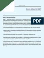 Convenio Multilateral Legislacion