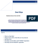 Deal Slip User Guide