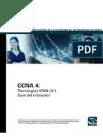 CCNA4 v3.1 -Tecnologías WAN_Guía del instructor