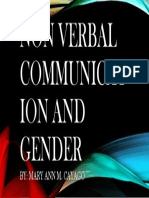 Non Verbal Communication and Gender