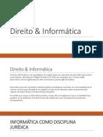 Aula III - Direito e Informatica.pptx