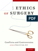 The Ethics of Surgery Conflicts and Controversies 1st Edition 2015 Oxford {PRG}