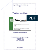 Ky nang phan tich Excel trong kinh te