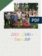 ziua clasei 7a 2010