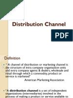 Distribution Channel Unit V
