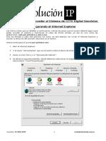 Instrucciones Para Acceder Al Sistema de CCTV Por Internet