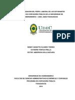 Caracterización Del Perfil Laboral Ocupado Por Los Estudiantes Activos de Contaduría Pública en La Universidad de Cundinamarca Sede Fusagasugá 1